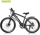 BRIGHT GG NAKTO 26' Electric Bike for Adults with 300W Motor and 36V 10Ah Built-in Lithium...
