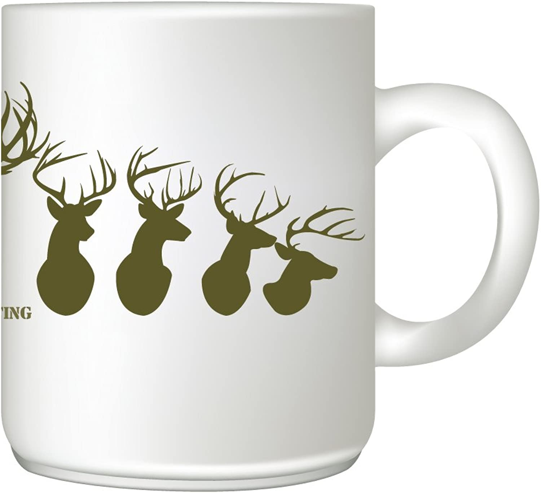 I'd Rather Be Hunting Coffee Mug - Coffee & Tea Mug - Great Hunter Gift - 11 oz Ceramic Mug