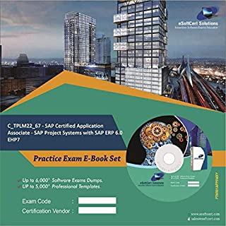 C_TPLM22_67 - SAP Certified Application Associate - SAP Project Systems with SAP ERP 6.0 EHP7 Complete Exam Video Learning Solution Set (DVD)