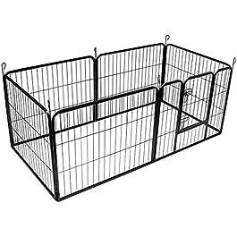 BUNNY BUSINESS Heavy Duty 6 Panel Puppy Play Pen/Rabbit Enclosure
