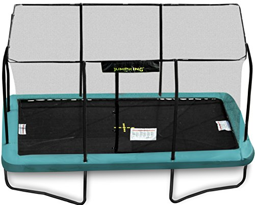 Cama elástica rectangular de 3 m x 4,3 m.