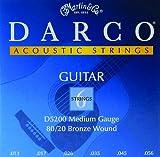Martin D5200 Darco 80/20 Bronze Acoustic Guitar Strings, Medium