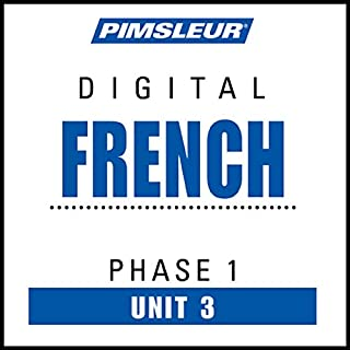 French Phase 1, Unit 03 audiobook cover art