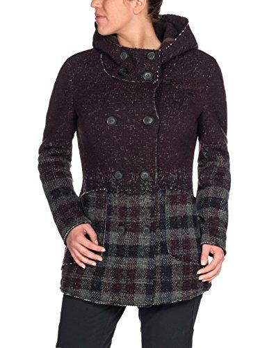 VAUDE Damen Women's Västeras Coat Damencampingoutdoorpulloversweatshirts, Raisin, 42