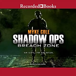 Shadow Ops, Book 3: Breach Zone audiobook cover art