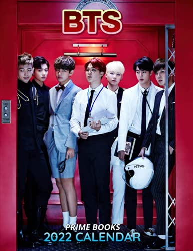 """BTS Calendar 2022: Monthly Planner Home Office Decor 8.5"""" x 22"""" (Open) Photo Poster For Ultimate Fans"""