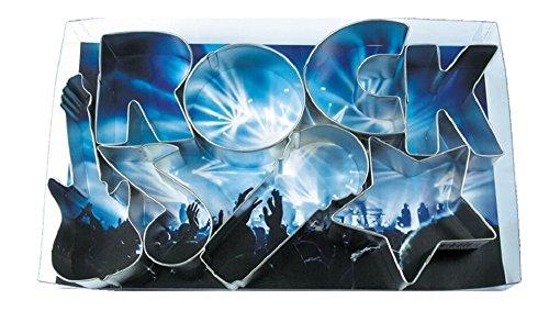 R&M International 2004 - Stampini per biscotti Rock Star Rock Star Argento