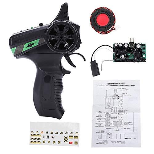 SNOWINSPRING Sound System Sender Empf?Nger Platine Horn Upgrade Zubeh?R für WPL D12 C24 B24 B36 MN D90 RC Truck Auto Teile, B