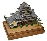 ウッディジョー 1/150 岡山城 木製模型 組み立てキット