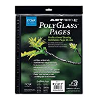 Itoya Polyglass RefillページLandscape 11x8.5 Landscape