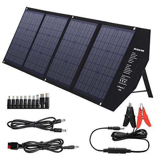 clasificación y comparación Panel solar portátil SUAOKI 80W con Quick Charge 3.0, USB-C, salida PD 45W, cargador solar… para casa