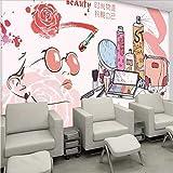 Zybnb Personalidad 3D Tienda De Cosméticos De Moda Manicura Tinta Graffiti Wallpaper Salón De Belleza Tienda De Ropa Mural