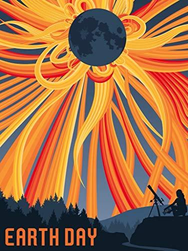 New York Puzzle Company - NASA Solar Eclipse - 1000 Piece Jigsaw Puzzle