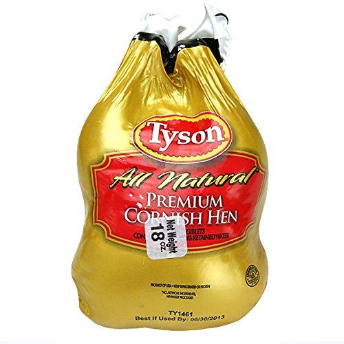 アメリカ産 ミニ地鶏ゲームヘン1羽約500g 18オンス冷凍