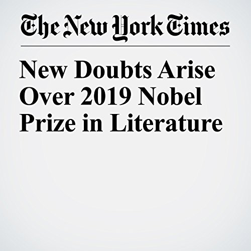 New Doubts Arise Over 2019 Nobel Prize in Literature copertina