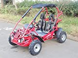 TRAILMASTER XRX-R MID-SIZE 200cc KIDS GO KART with REVERSE RED