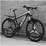 26 Inch Men's Mountain Bikes, High-carbon Steel Hardtail Mountain Bike, Mountain Bicycle