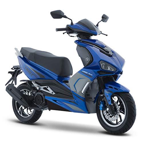 Motocicleta Italika de Motoneta- Modelo Modena 150 Negro/Azul