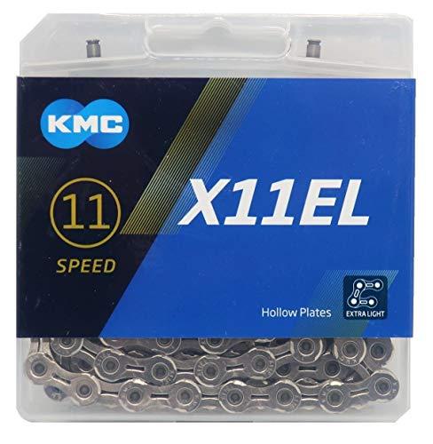 KMC X11EL チェーン 11速/11S/11スピード/11speed 用 118Links (シルバー) [並行輸入品]