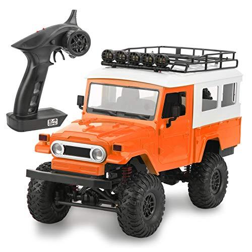 Pwshymi Stunt Racing Car Drift Racing Car Niños(Orange)