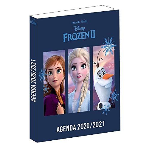 Kalender, Motiv Die Eiskönigin 2, September 2020 bis September 2021-12 x 17 cm