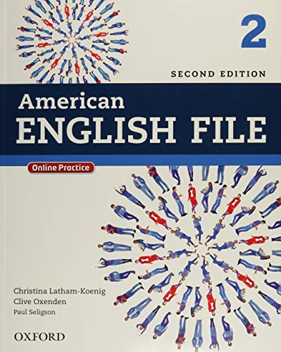 American English File 2 - Student Book - 02Edition: With Online Practice