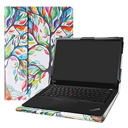 "Alapmk Protective Case for 13.3"" Lenovo ThinkPad X390 X395 X13 L13/ThinkPad X390 Yoga/ThinkPad L13 Yoga/ThinkPad X13 Yoga/ThinkPad L13 Gen 2/ThinkPad L13 Yoga Gen 2[Not fit ThinkPad X380],Love Tree"