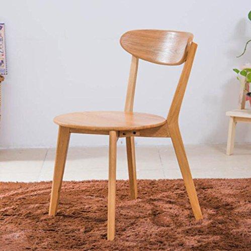 Tabouret en bois Chêne Tables et Chaises de bureau Chaises de bureau Chaises de bureau Continental Modern (Couleur : A)