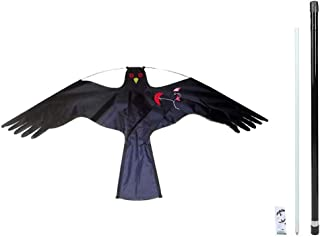 Bird Deterrent Kite Pigeon Scarers For Gardens, Birds Repellent Kite Simulated Hawk Flash Reflective Scare Kites With Tele...