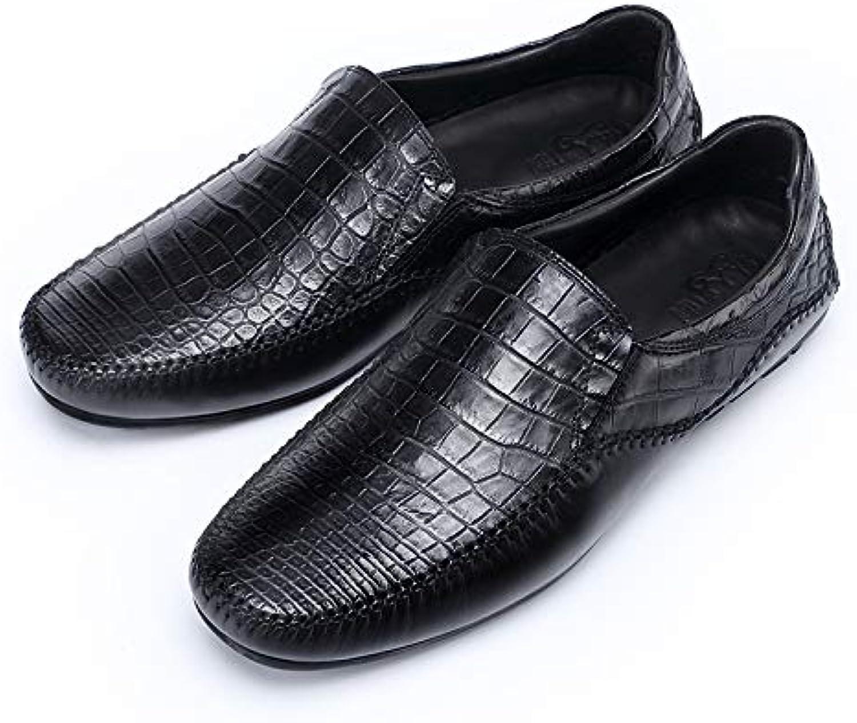 LOVDRAM Männer Lederschuhe Sommer New Business Casual Dress Herrenschuhe Leder Spitze Mode Schuhe Herren Leder Schuhe B07PGYCBR2  | Ich kann es nicht ablegen