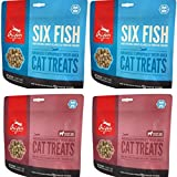 Orijen 2 Six Fish Cat Treats 1.25 oz ea and 2 Grass Fed...