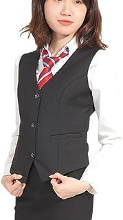 Eiza ベスト レディース フォーマル 大きいサイズ ビジネス ジレ オフィス ベストレディース 事務服 制服 e369