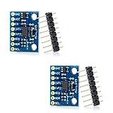 HiLetgo® 2個セット GY-291 ADXL345 3軸デジタル 加速度モジュール 重力 加速度 チルトセンサモジュール 傾斜センサモジュール 傾斜センサ 並行輸入品