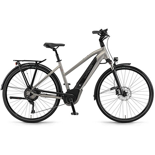 Winora Sinus iX11 500 Damen Pedelec E-Bike Trekking Fahrrad grau 2019: Größe: 52cm