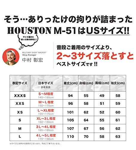 ユニオントレーディング『HOUSTON(ヒューストン)M-51PARKA』