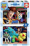 Educa - Toy Story 4 2 Puzzles de 48 Piezas, Multicolor (18106)