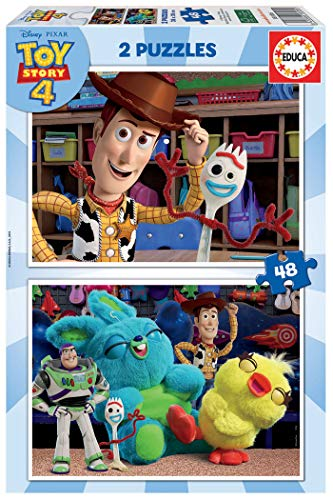 Educa- Toy Story 4 2 Puzzles de 48 Piezas, Multicolor (18106)