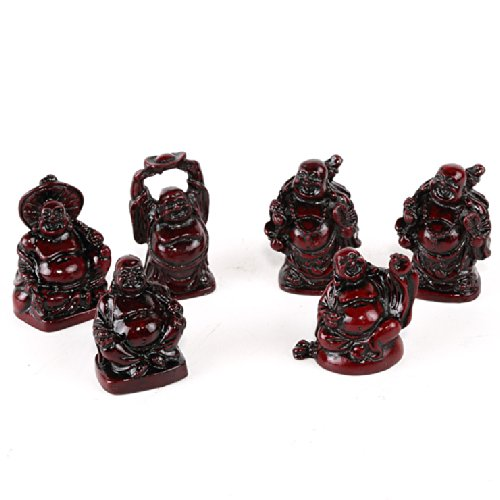 Série des 6 Bouddhas Rieurs - Les 6 Bonheurs - Porte-Bonheur Chinois