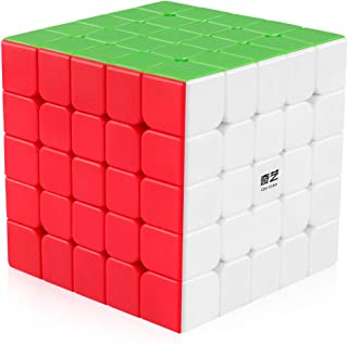 Coogam Qiyi 5x5 Speed Cube Stickerless Puzzle Toy (Qizheng S Version)