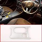 MYlnb Para Mercedes Benz CLA GLA A Clase C117 W176 X156 2012-2019, Volante a la Derecha, Cubierta del portavasos del Coche, Accesorios ABS, Cromo, Accesorios
