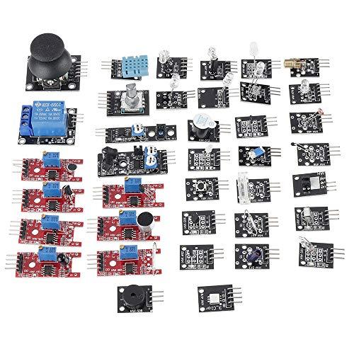 LTZB 37 en 1 kit del sensor de los equipos del arrancador del tablero del módulo del sensor para el paquete de la caja del cartón de Arduino