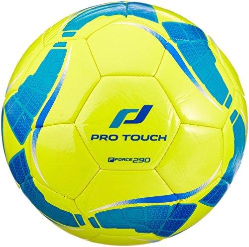 Pro Touch Fußball Force 290 Lite Größe 5, Gelb/Türkis/Blau, 5
