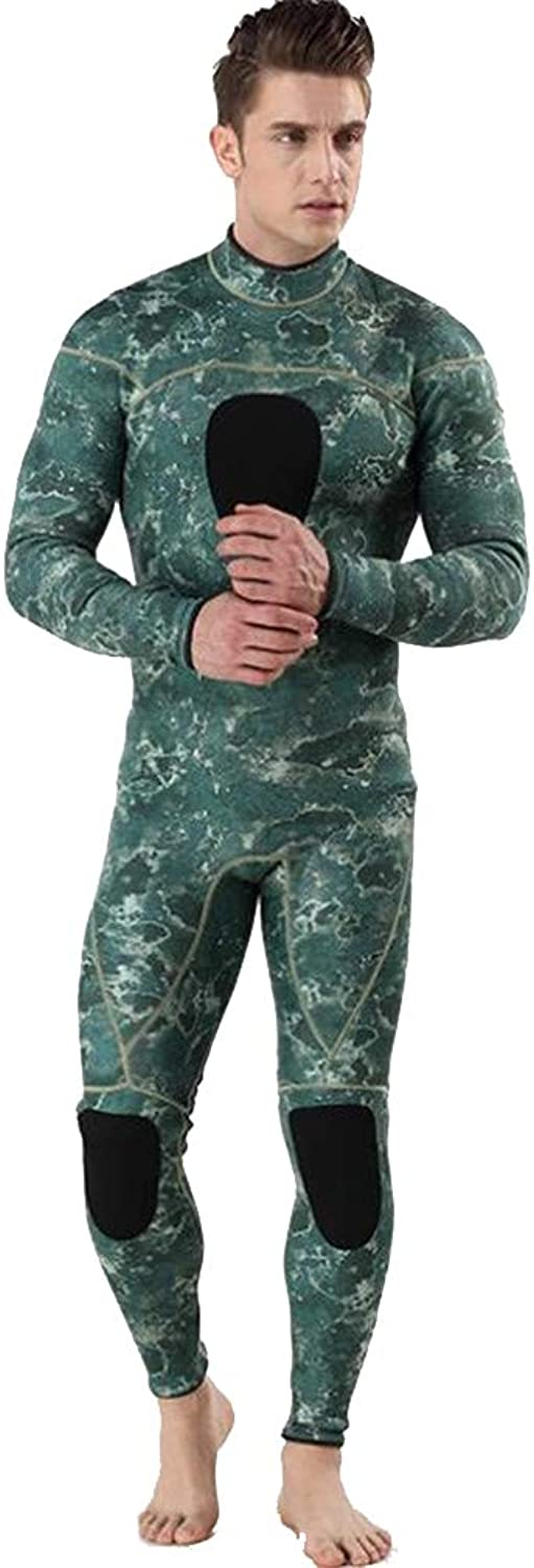 STEAM PANDA 3MM Wetsuit Full Length Siamese Diving Suit Cold Predection Keep Warm Surf Suit Prevent Jellyfish