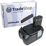 Trade-Shop Batería de ion de litio para herramientas Hitachi C18 CJ18 DH18 G18 KC18 RB18 RB18 CR18 DS18 DV18 WH18 WR18 sustituye a EB1830 EB1820 (18 V, 3000 mAh)