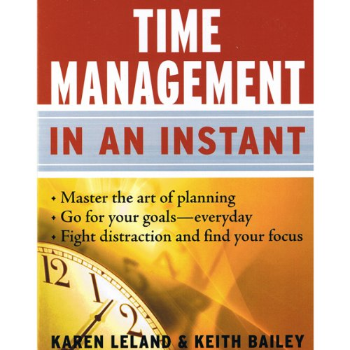 Time Management in an Instant audiobook cover art