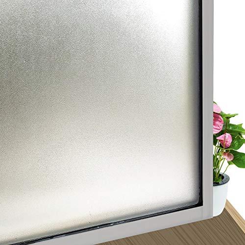 LMKJ Película para Ventanas Decorativa esmerilada con Pasta electrostática. Pegatina de Vidrio de privacidad Esmerilado de Vinilo, película para Puertas y Ventanas A82 30x100cm