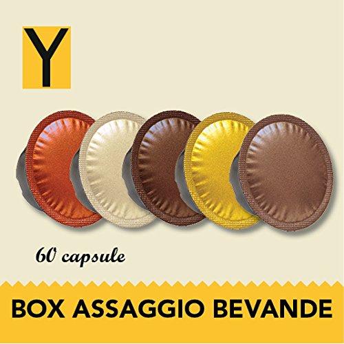 Yespresso Capsule Lavazza a Modo Mio Compatibili Box Bevande - Confezione da 60 Pezzi