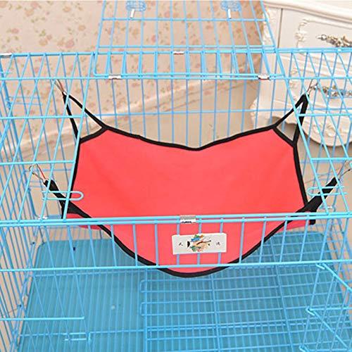 ukYukiko Gato colgante hamaca impermeable tela cama Mat para jaula para conejo/rata/hurón