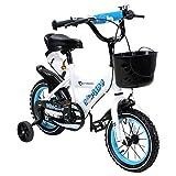 Actionbikes Kinderfahrrad Donaldo - 12 Zoll - V-Break Bremse vorne - Stützräder - Luftbereifung - Ab 2-5 Jahren - Jungen & Mädchen - Kinder Fahrrad - Laufrad - BMX - Kinderrad (12`Zoll) - 4