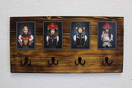 JOKA International Black Forest Schlüsselbrett Kim, Moderner Schwarzwaldstyle Portrait von Schwarzwaldmodels vom Starfotograf Sebastian Wehrle